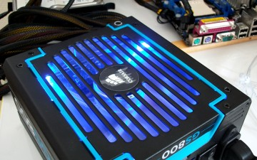 Test de l'alimentation Corsair GS800 (version 2)