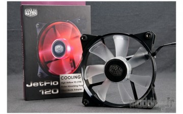 [TEST] Cooler Master JetFlo 120 mm