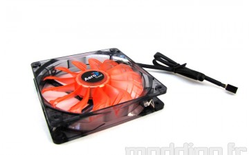 [Test] Ventilateurs AEROCOOL AIR FORCE 120mm et 140mm