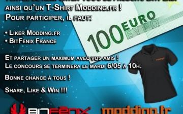 [Concours] modding.fr s'associe à Bitfénix France pour fêter les 3000 fans de la marque.