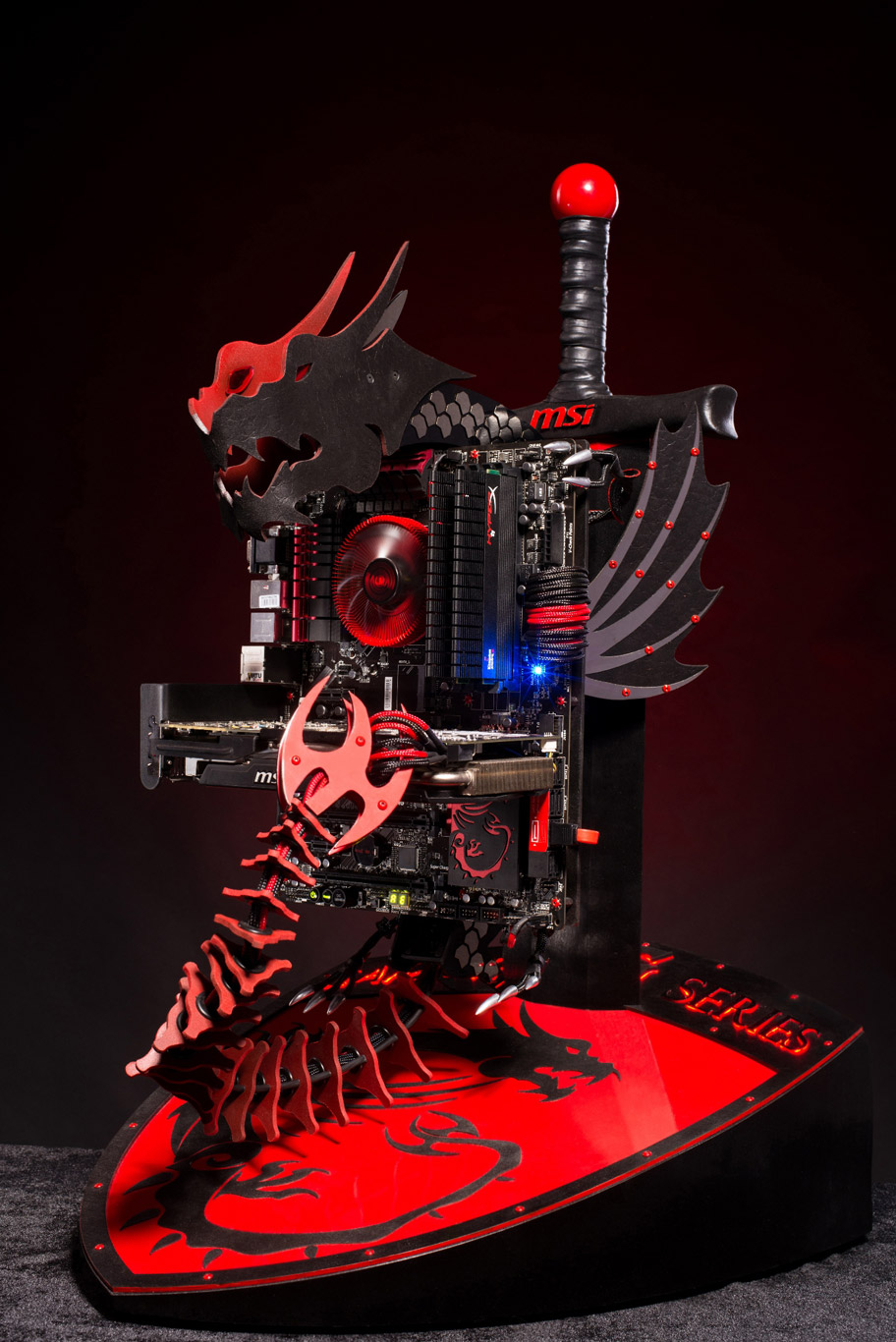 Msi wallpapers and background - Un Mod Msi Dragon Modding Fr