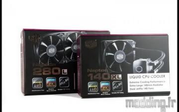 [TEST] AIO Nepton 140XL et 280L de Cooler Master