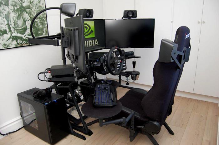 un cockpit dans mon salon. Black Bedroom Furniture Sets. Home Design Ideas
