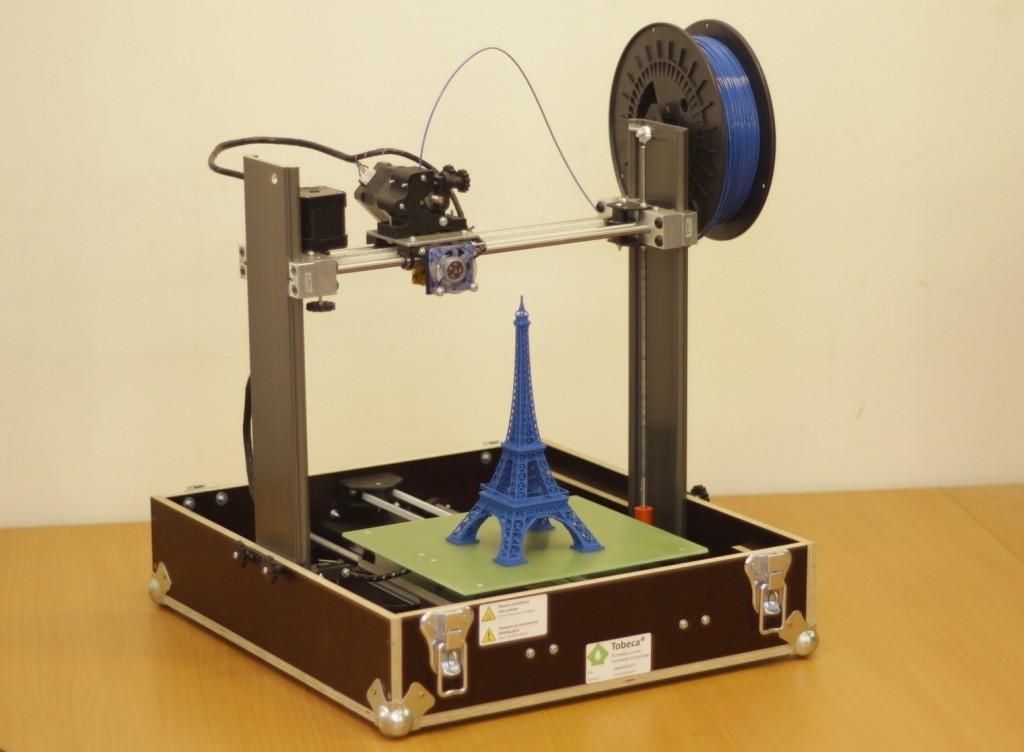 Tuto pr sentation et montage d une imprimante 3d tobeca for Construction de maison imprimante 3d