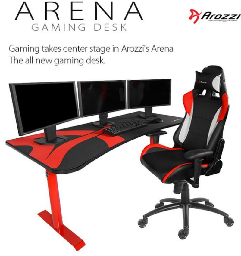 Arozzi annonce son bureau arena gaming for Bureau gaming