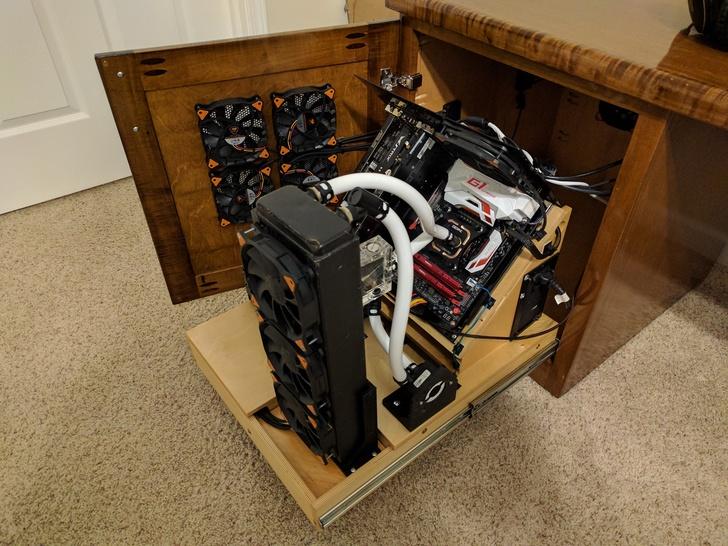 [MOD] Un joli deskmod vintage
