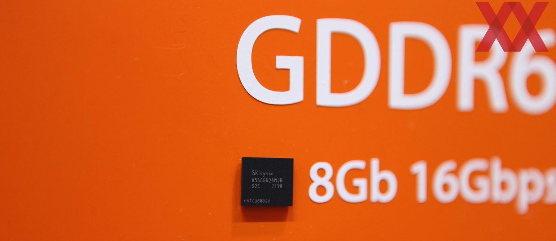 GDDR6, deux fois plus rapide que la GDDR5
