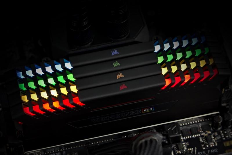[TEST] Kit DDR4 Corsair Vengeance RGB 32 Go 3000 Mhz