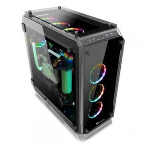 thermaltake view 71 tempered glass edition full-tower chassis series-advanced ventilation