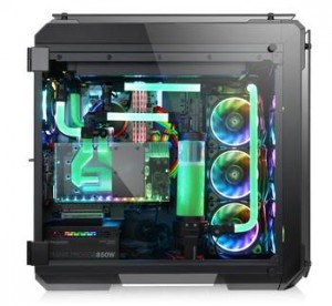 thermaltake view 71 tempered glass edition full-tower chassis series-high-end complete solution