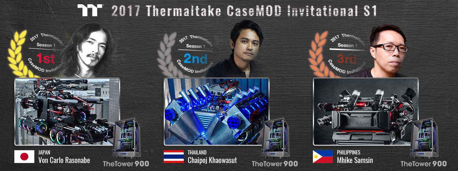 [MOD] Resultats du concours Thermaltake CaseMOD Invitational Season 1 2017