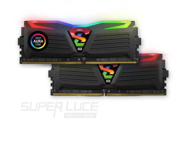 GEIL annonce sa Super DDR4 avec du Super RGB