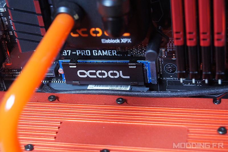 [TEST] Alphacool HDX M.2 Cooler 80mm