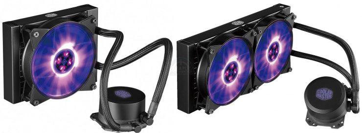Cooler Master lance ses MasterLiquid ML240L RGB et ML120 RGB, des AIO bon marché