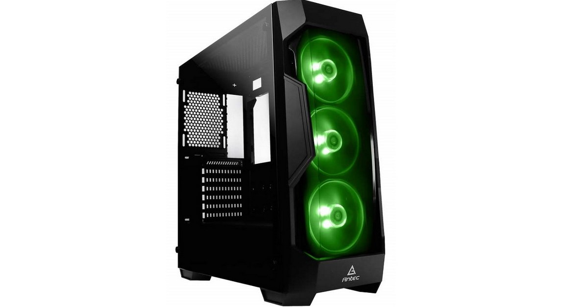 Antec lance un boitier gaming petit budget : le DF500 RGB