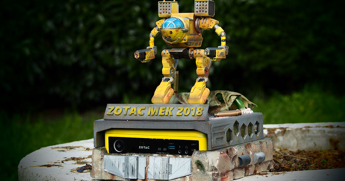 [MOD] Zotac Mek 2018 by Axiom Modding