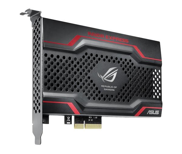 CES: ASUS présente des SSD PCI Express
