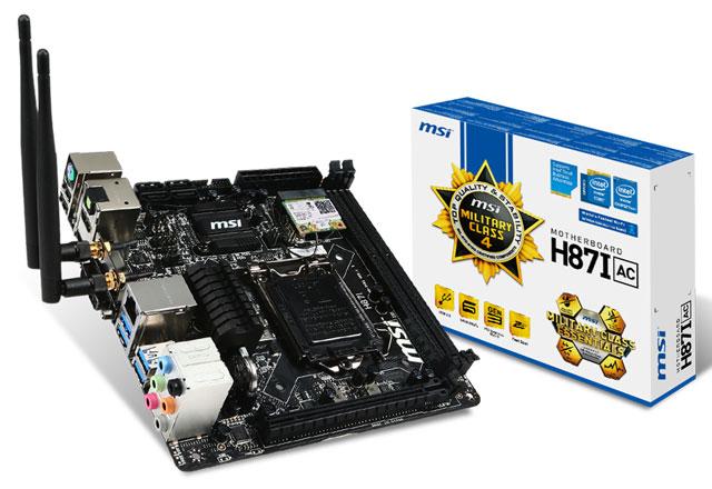 MSI élargit sa gamme Mini-ITX