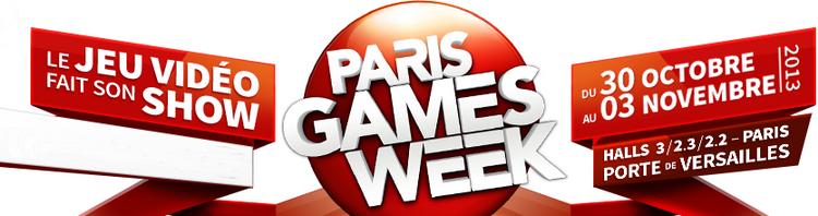 Un petit tour à la Paris Games Week 2013