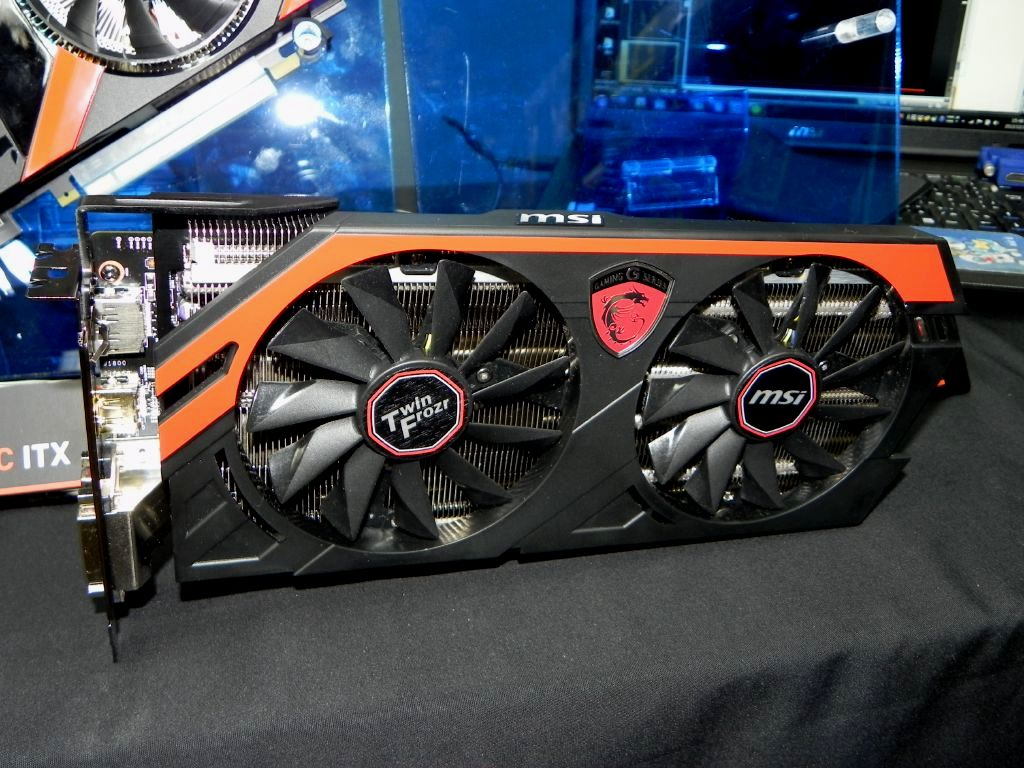 MSI montre sa R9 290x