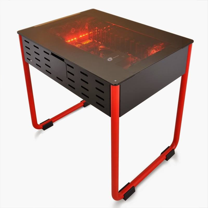 Un prototype de boitier desk