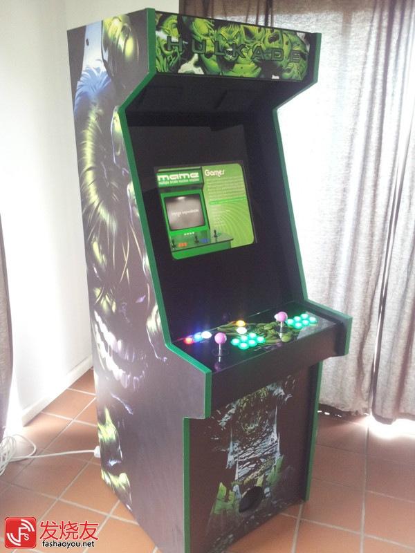 [MOD] Borne d'arcade Home Made
