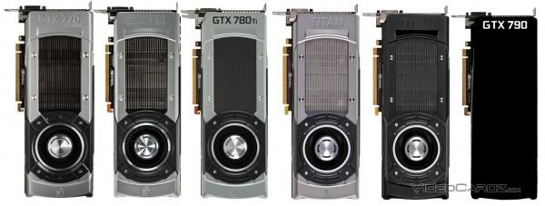 GeForce GTX TITAN BLACK et GTX 790 référencées!!