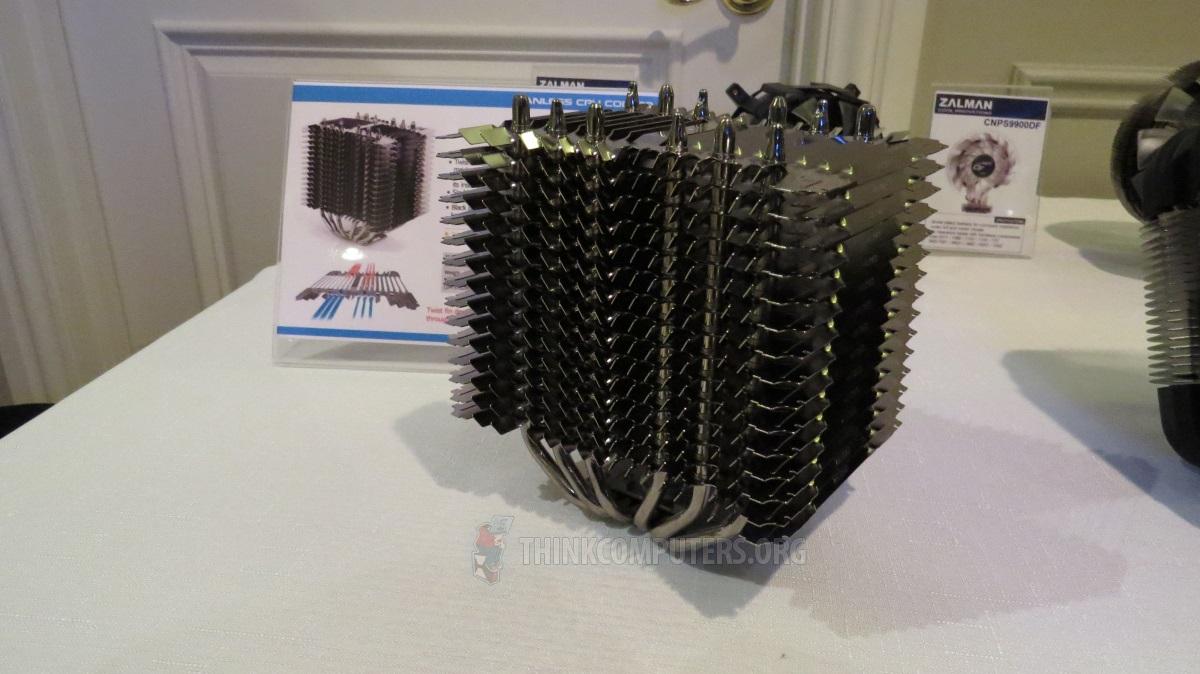 [CES] Un radiateur CPU passif chez Zalman