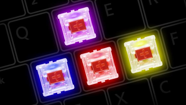 Le Clavier Corsair MX Cherry RGB en vidéo