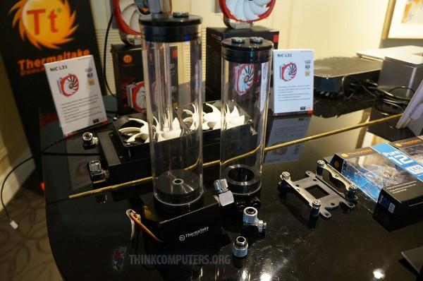 [CES] Thermaltake se lance dans le Watercooling custom