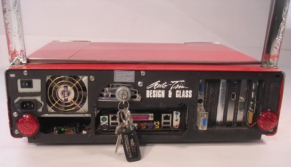 Christine Diy Hotrod Car Computer Case Mod 4 Modding Fr