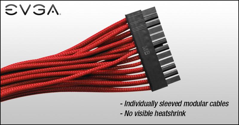 Cables gainés pour les alim EVGA SuperNOVA G2/P2