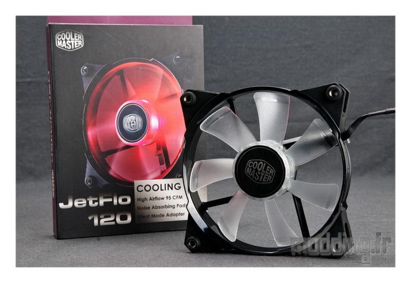 [TEST] Ventilateur Cooler Master JetFlo 120 mm