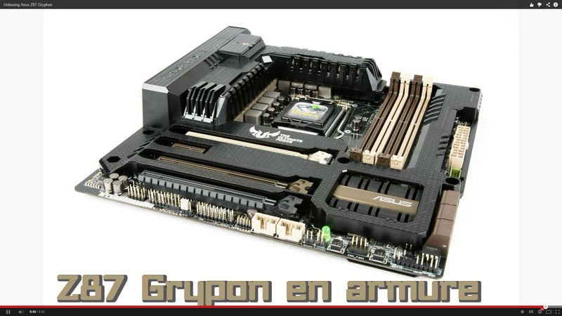 [Unboxing] Asus Z87 Gryphon
