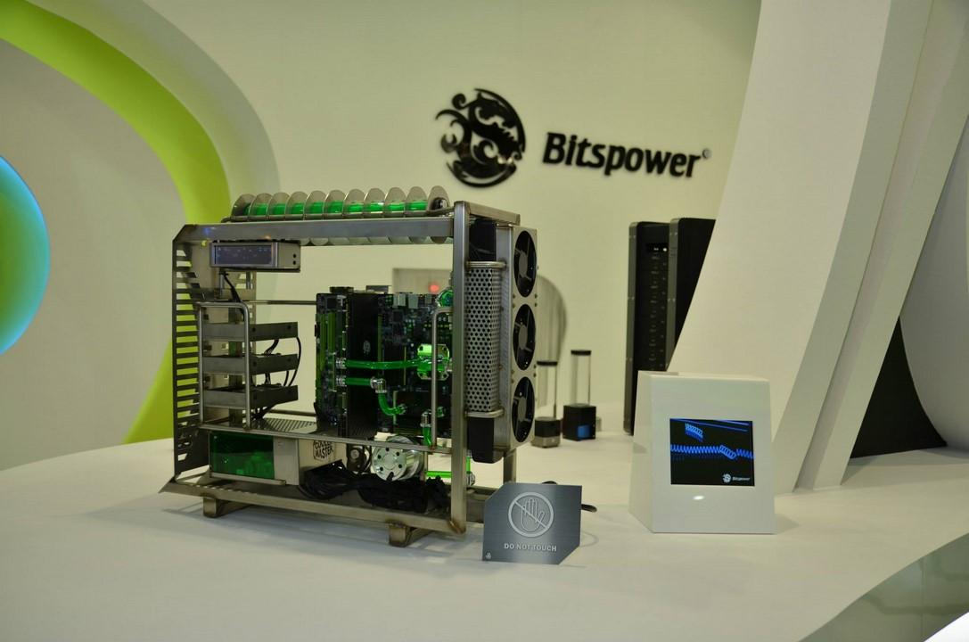 Computex 2014 : le stand Bitspower