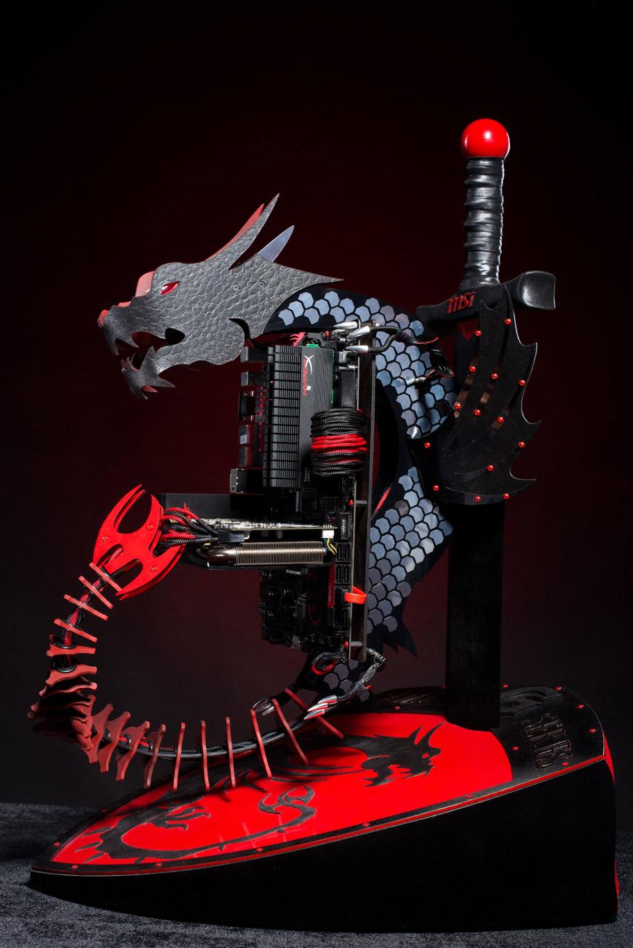 Un mod MSI dragon