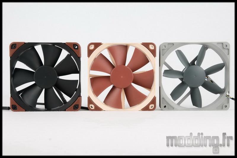 [TEST] Ventilateur Noctua Redux et Industrial PPC