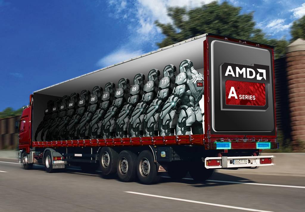 12 cores pour AMD
