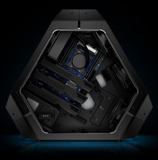 Alienware repéré dans la zone 51