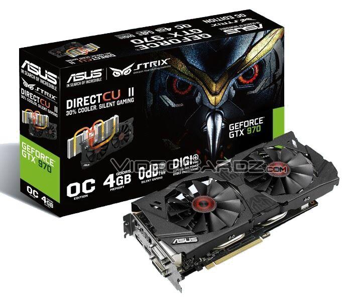 ASUS GeForce GTX 970 STRIX en photos