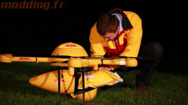 DHL teste la livraison par drone en service régulier