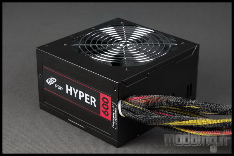 [TEST] Alimentation Hyper 600 FSP Group