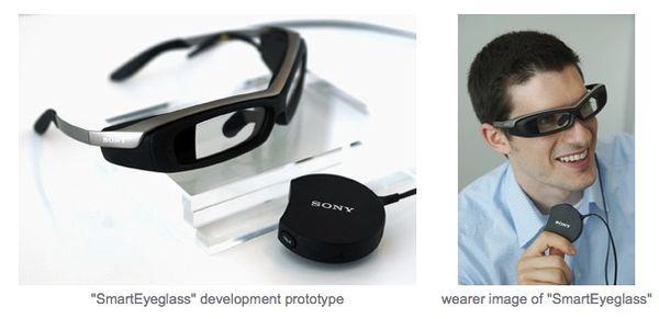 Sony propose des lunettes de piscine...