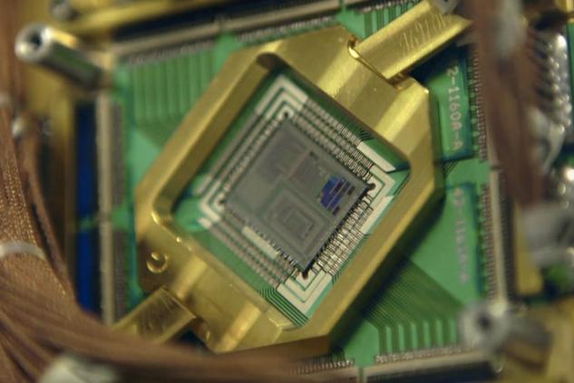 Un ordinateur Quantique pour Google
