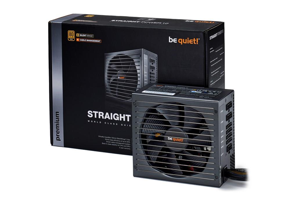 be quiet! - lancement STRAIGHT POWER 10