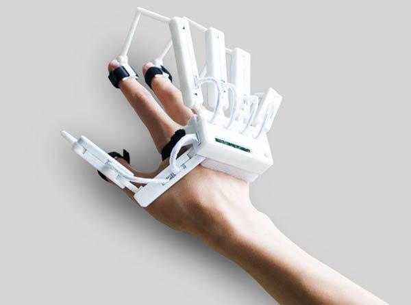 Un gant pour toucher le virtuel