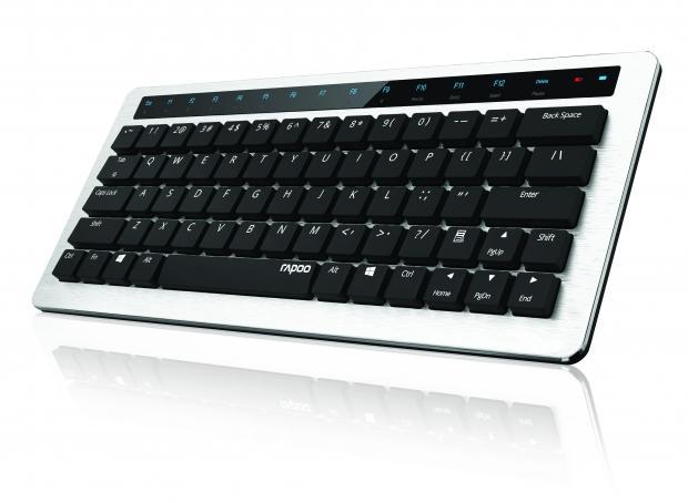 Rapoo lance un clavier mécanique avec retour de vibrations