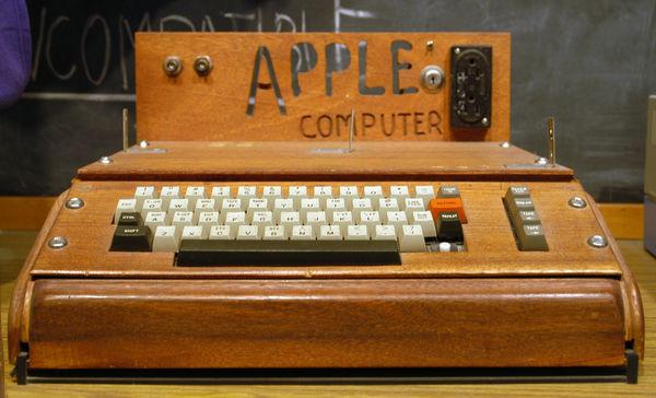 Apple I se vend pour 711 000 €