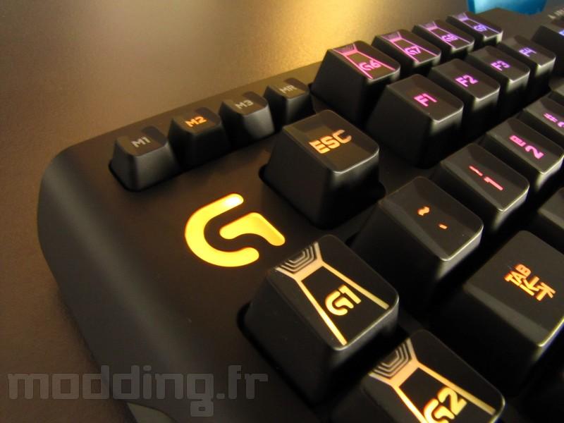 Exclue du soir... Le clavier G910 de LOGITECH en photos