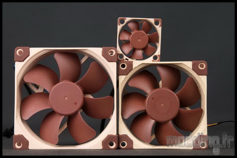 [TEST] Ventilateur Noctua NF-A9, NF-A8 et NF-A4